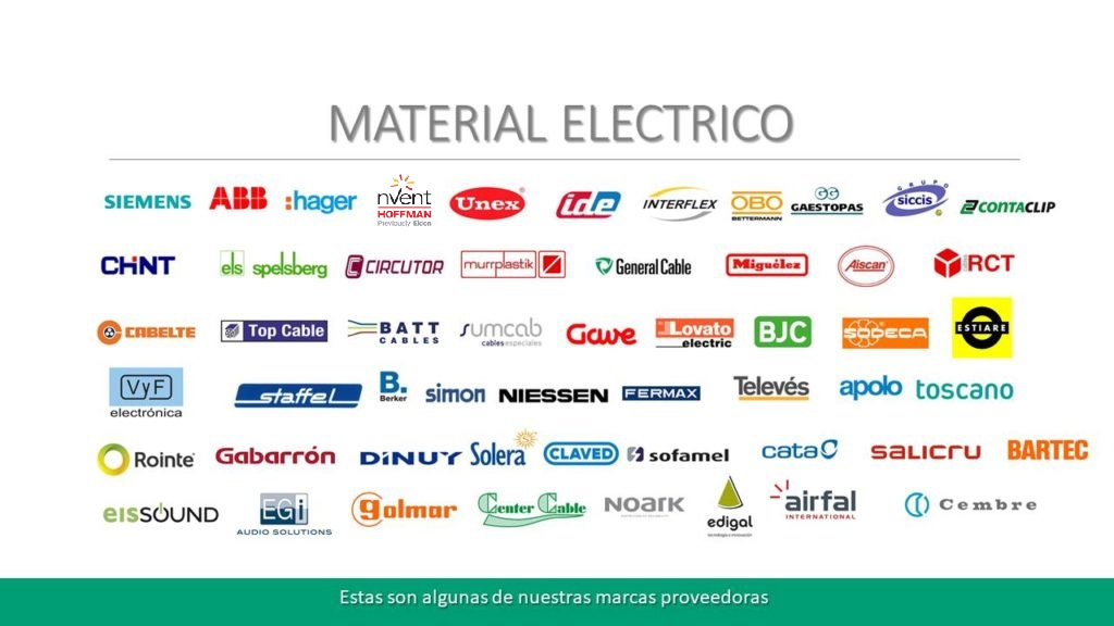 Marcas Electrico